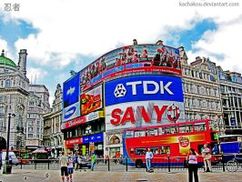 piccadilly circus hdr by kachakou