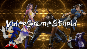 VideoGameStupid Wallpaper by JanetAteHer
