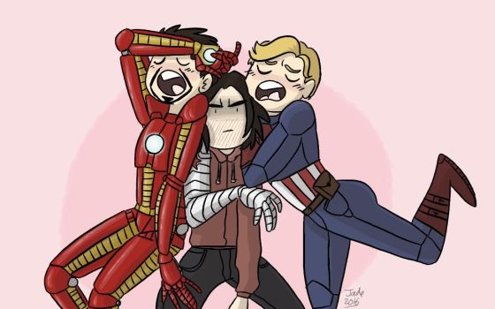 Draw The Squad - Civil War : a summary by Grandkhan