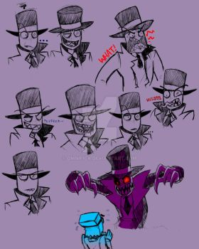 BlackHat Facial Expressions by OmnificA