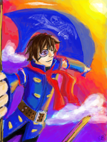 Vyse the Blue Rogue by Icetigris