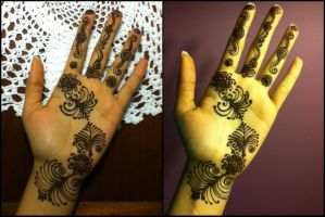 Curly Fries Henna by A-w0man
