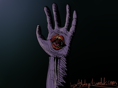 Mouth Hand by insertsdeviant