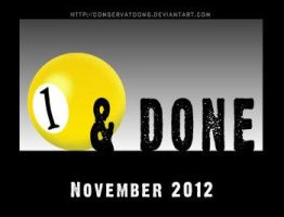 One and Done Obama Graphic by Conservatoons