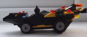 Lego Batmobile 2 by BevisMusson