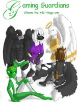 Gaming Guardians Furries by The-Dragon-Girl