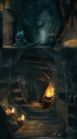 Medusas Labyrinth: ConceptCatacombs by Roiuky