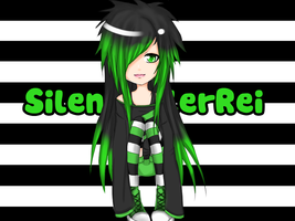 Lovely Green Monster by XReinaxStarX