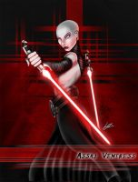 Assaj Ventress by Pensketcher