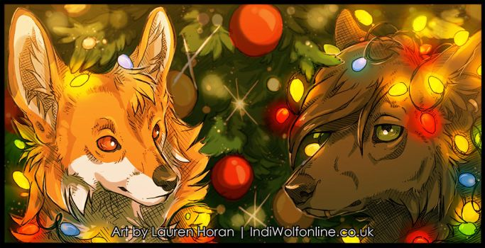 Christmas Stuffs by IndiWolfOnline