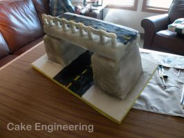 Bridge Cake by cake-engineering