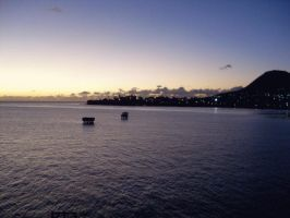 st kitts at dusk by ikklesammy