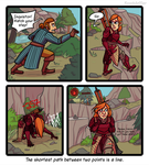 Don't tell me what to do, Varric by RoochArffer