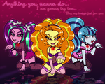 The Dazzlings Will Do Anything by PrincessCallyie