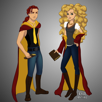 Hogwarts Couples: Munto and Yumemi by Angel-of-Love