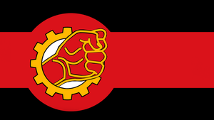 Tractionist Flag by Party9999999