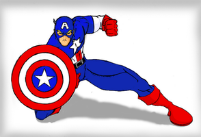 Captain America by Mr-Chango