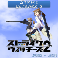 Strike Witches 2 ICO & PNG by bryan1213