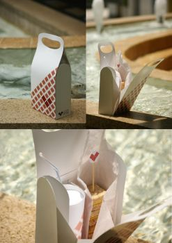 Love Bites Cafe Packaging by Tebius