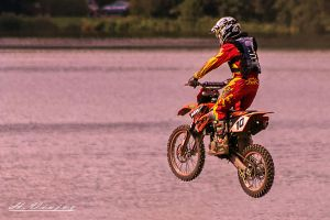 Dirtbikes Ferte Mace Orne France by hubert61