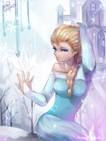 Queen of Ice by christon-clivef
