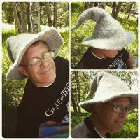 Dad's Gandalf Father's Day Hat by kateknitsalot