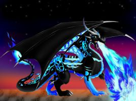 Sapphira Dragon form FINISHED by sapphire-blackrose