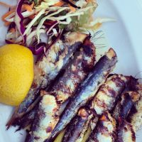 Grilled Sardines by piratesofbrooklyn