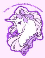 Unicorn shirt design by zambicandy