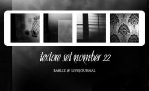texture set 22 by babliz