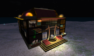 Second Life Teahouse Ext by jassele