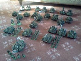 78th Praetorian Armoured Battlegroup by StephenJD