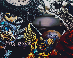+ 2016 Jun Png Pack #vintage #steampunk by for24hours