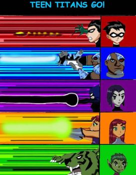 Teen Titans Go by scotty9359