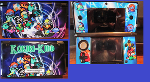 My custom 3DS skin by Kokiri-Kidd
