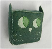 Small Green Owl by elbooga