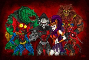 The Evil Horde by jonito