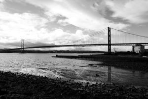 Forth Road Bridge by fourteenthstar