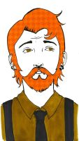 Men and the Beards: Caleb by TheTinyHobo