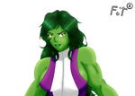 She Hulk by fotanimaciones