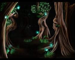 The enchanted wood by Mikonow