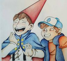 Wirt and Dipper by K8KAT