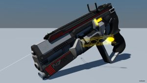 MX6-Demon Heavy Combat Revolver1 by rex3cutor