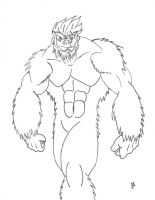 Darkstalkers Reborn, Sasquatch by dragon-kun15