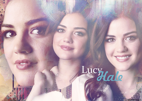 Lucy Hale Wallpaper by AkiBrowning