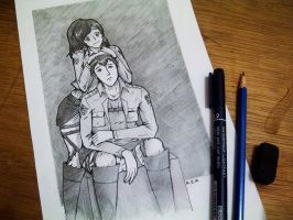 Attack on Titan - Bertholdt and Sasha by Aliza99Izet