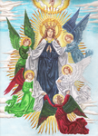 Assumption of Mary. by Laetamini