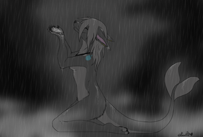In the downpour by Sushi