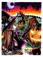 Trick or treat by BloodyCerise