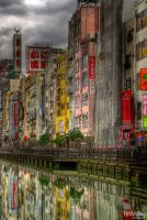 Dotonbori by Tim-Wilko